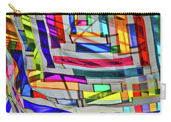 Museum Atrium Art Abstract Carry-all Pouch