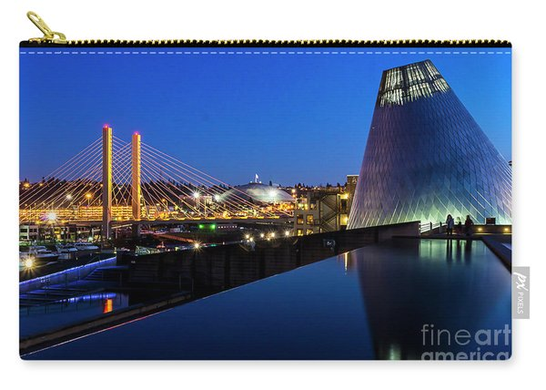 Museum Of Glass At Blue Hour Carry-all Pouch