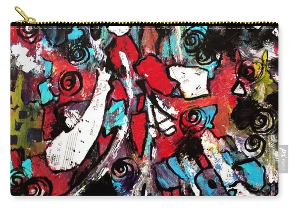 Musical Cacophony 1 Carry-all Pouch