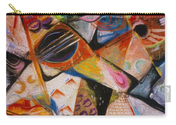 Musical Pastels Carry-all Pouch