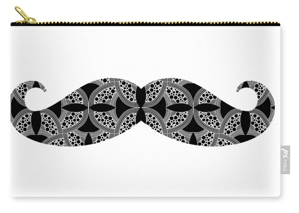 Mustache Tee Carry-all Pouch