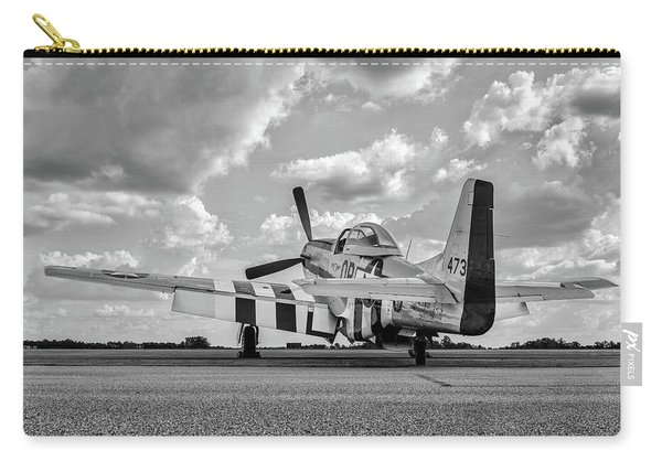Mustang On The Ramp Carry-all Pouch