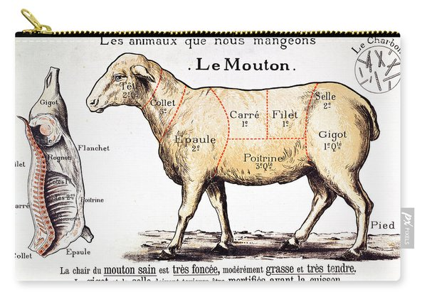 Mutton Carry-all Pouch