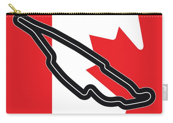 My 2017 Grand Prix De Canada Minimal Poster Carry-all Pouch