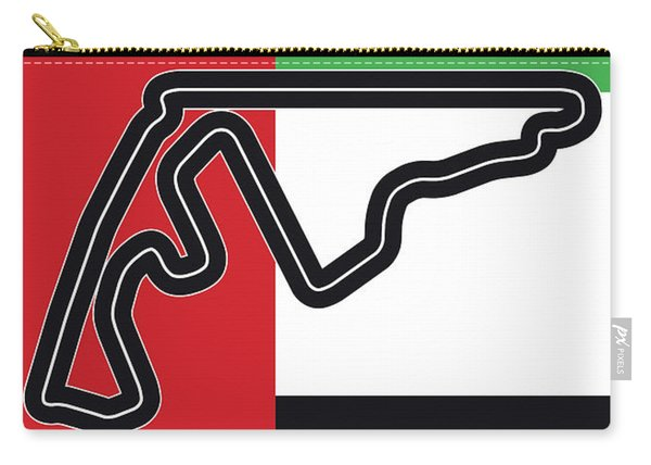 My Abu Dhabi Grand Prix Minimal Poster Carry-all Pouch