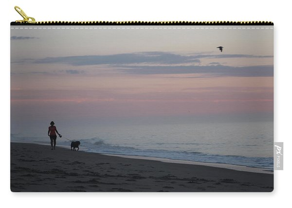 My Best Friend And The Beach Carry-all Pouch