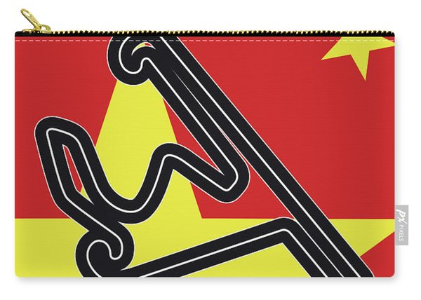 My Chinese Grand Prix Minimal Poster Carry-all Pouch