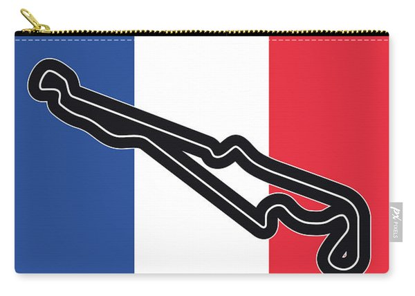 My F1 France Race Track Minimal Poster Carry-all Pouch