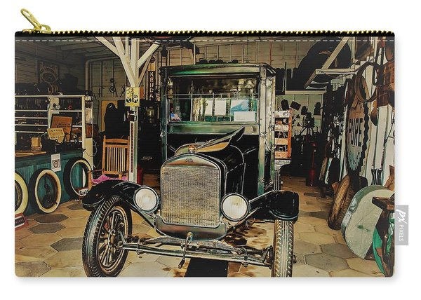 My Garage Too Carry-all Pouch