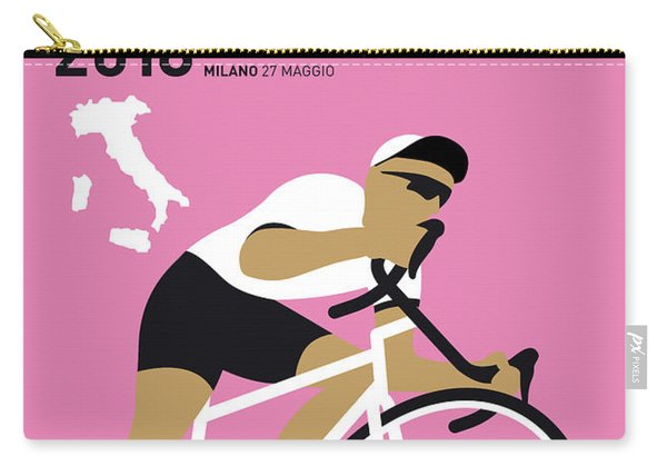 My Giro Ditalia Minimal Poster 2018 Carry-all Pouch