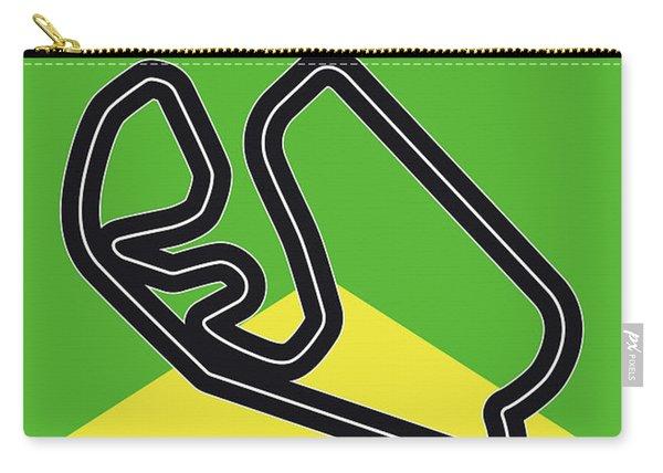 My Grande Premio Do Brasil Minimal Poster Carry-all Pouch