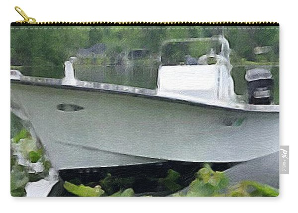 My Grandson's Boat Carry-all Pouch
