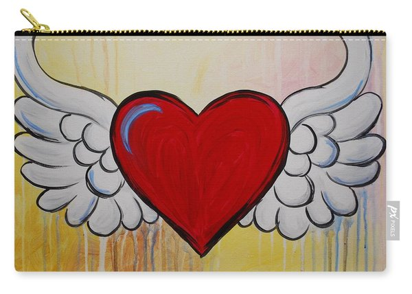 My Heart Has Wings Carry-all Pouch