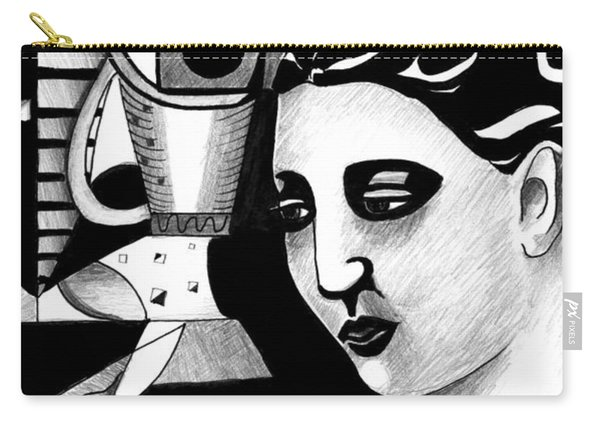 My Outing With A Young Woman By Picasso Carry-all Pouch