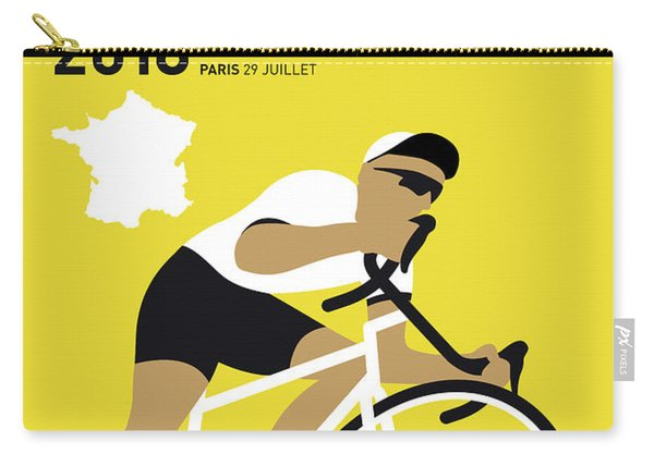 My Tour De France Minimal Poster 2018 Carry-all Pouch