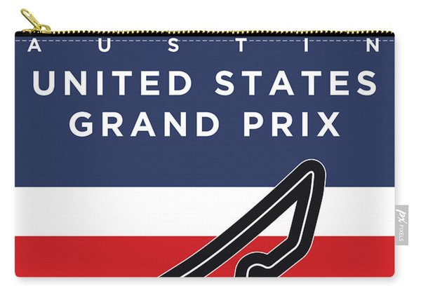 My United States Grand Prix Minimal Poster Carry-all Pouch