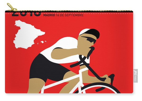 My Vuelta A Espana Minimal Poster 2018 Carry-all Pouch