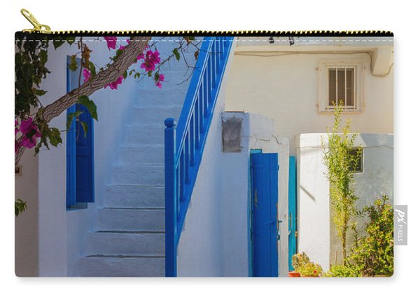 Mykonos Staircase Carry-all Pouch