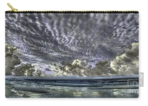 Myrtle Beach Hand Tinted Panorama Sunrise Carry-all Pouch