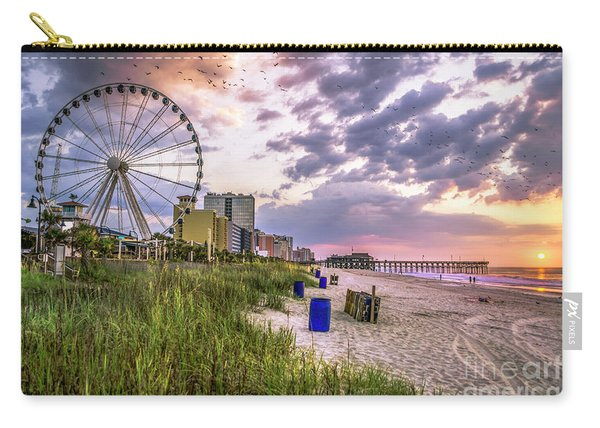 Myrtle Beach Sunrise Carry-all Pouch
