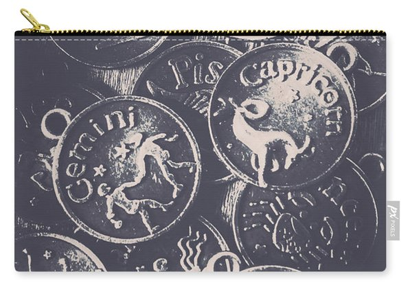 Mysteries Of The Horoscopes Carry-all Pouch