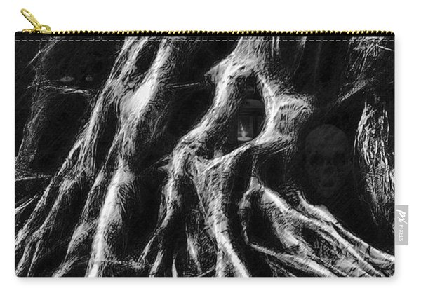 Mysterious Dark Forest Carry-all Pouch