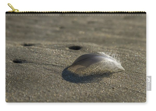 Mysterious Feather Carry-all Pouch