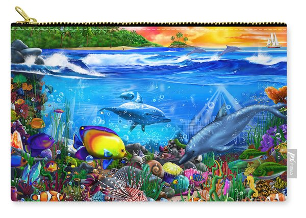 Mysterious Ocean Realm Carry-all Pouch