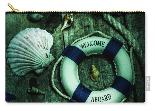 Mystery Aboard The Sunken Cruise Line Carry-all Pouch
