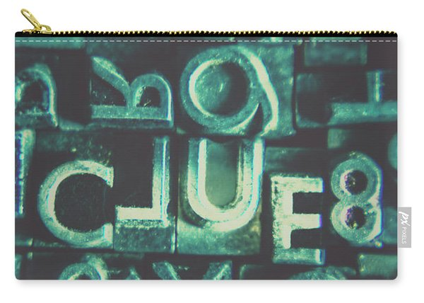 Mystery Writer Clue Carry-all Pouch