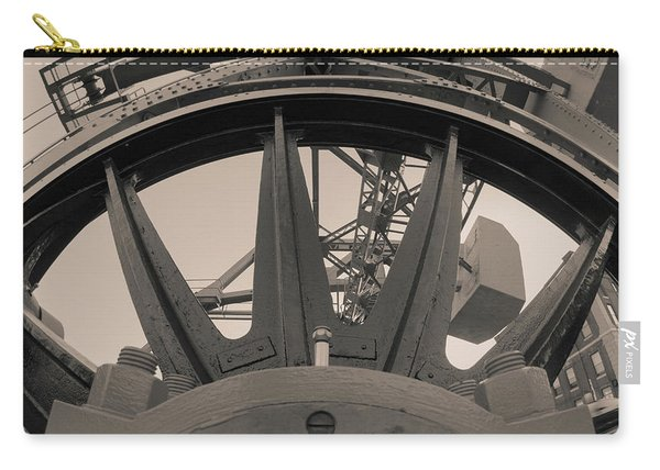 Mystic Bridge Gear In Mystic Ct Carry-all Pouch