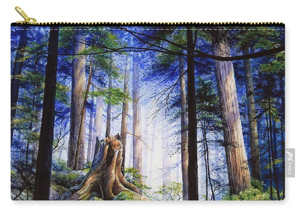 Mystic Forest Majesty Carry-all Pouch