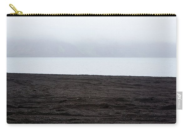 Carry-all Pouch featuring the photograph Mystical Island - Shores Of The Black Lake by Matthew Wolf