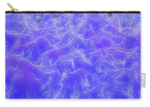 Carry-all Pouch featuring the digital art Mystic Mountains by Michael Lucarelli