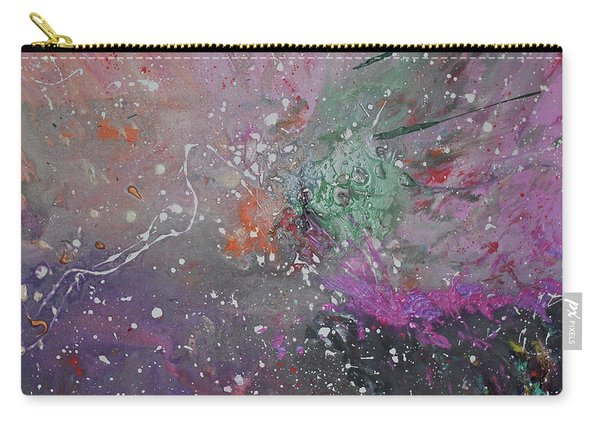 Carry-all Pouch featuring the painting Mystical Dance by Michael Lucarelli