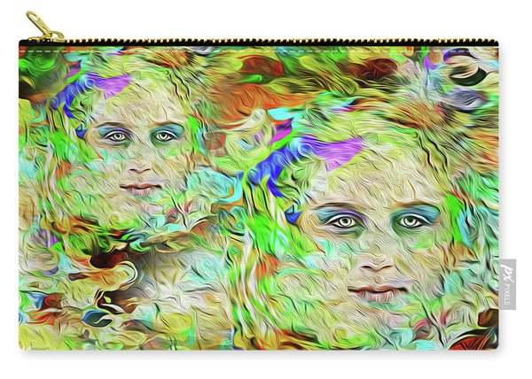 Mystical Eyes Carry-all Pouch