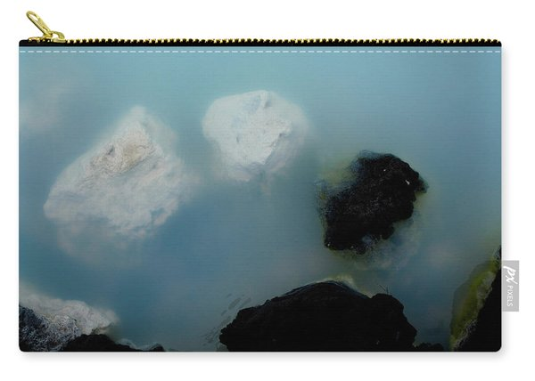 Carry-all Pouch featuring the photograph Mystical Island - Healing Waters by Matthew Wolf