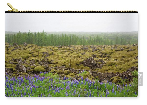 Carry-all Pouch featuring the photograph Mystical Island by Matthew Wolf