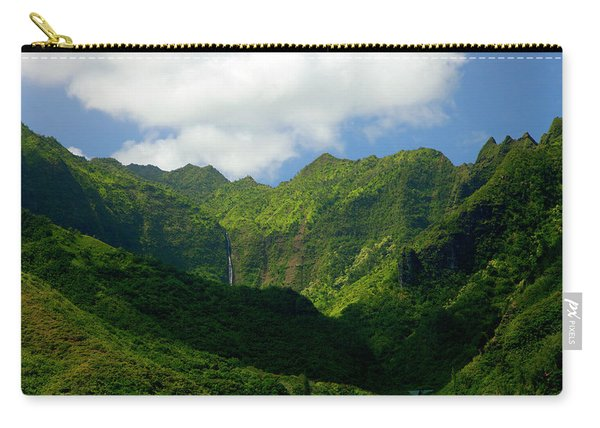 Na Pali Green Carry-all Pouch