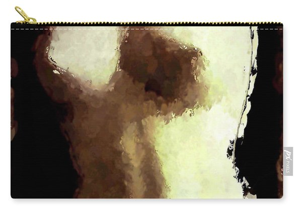 Naked Female Torso  Carry-all Pouch