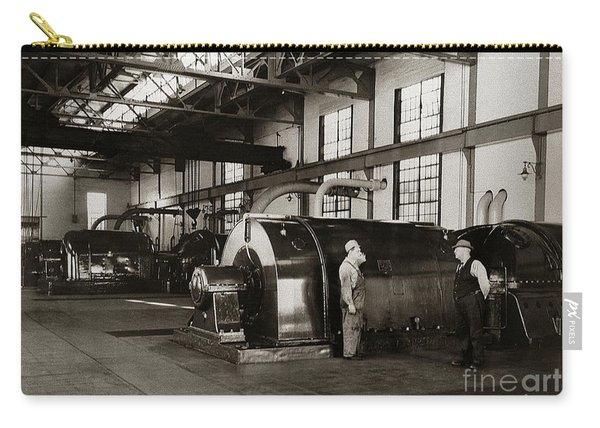 Nanticoke Pa Electrical Generators Glen Alden Mines Power Plant 1945 Carry-all Pouch