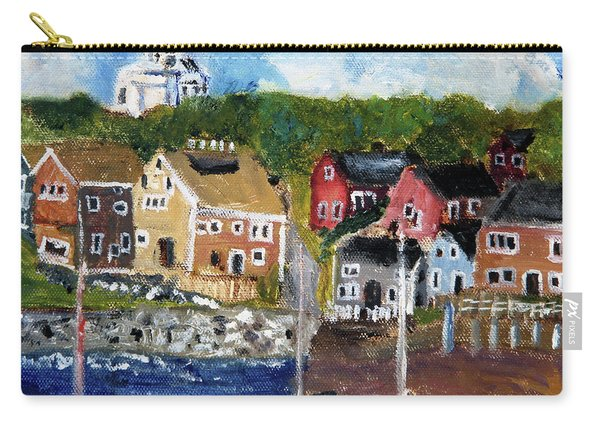 Nantucket Harbor Scene Carry-all Pouch