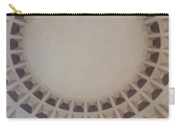 Narrow View Of A Dome Carry-all Pouch