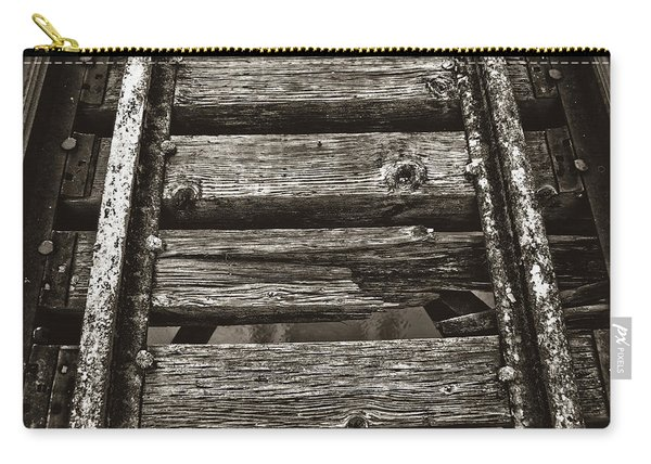 Narrow Gauge Tracks #photography #art #trains Carry-all Pouch