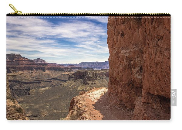 Narrow Trail On The South Kaibab Trail, Grand Canyon Carry-all Pouch