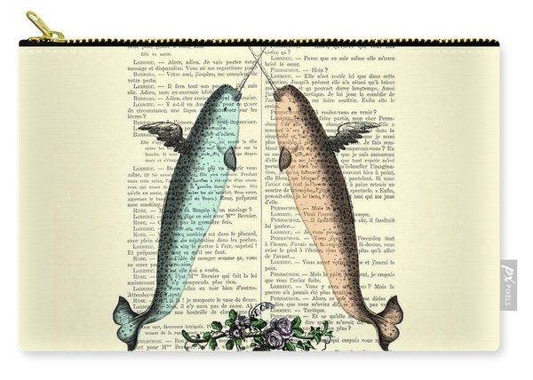 Narwhals In Love Carry-all Pouch