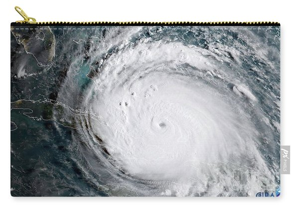 Nasa Hurricane Irma Satellite Image Carry-all Pouch