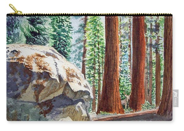 National Park Sequoia Carry-all Pouch