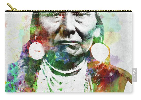 Native American Indian 1 Carry-all Pouch
