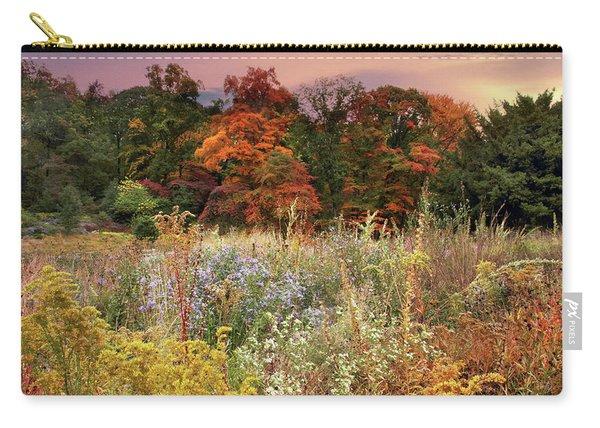Native Garden Sunset Carry-all Pouch
